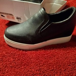 New in Box Danskin wedge slip on shoes
